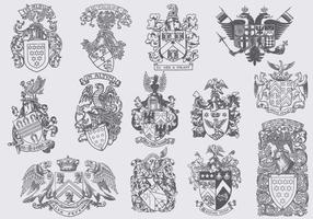 Heraldische Eagles