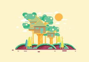 Treehouse 2 vector