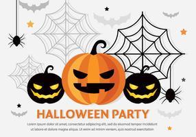 Halloween Vector Pompoenhoofden