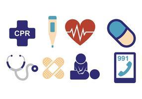 CPR en Gezondheidsvectoren vector