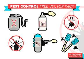 Pest Control Icons Gratis Vector Pack