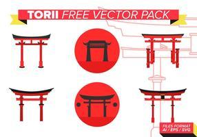 Torii Gratis Vector Pakket