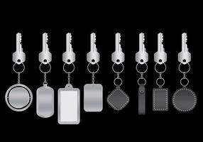 Sleutelhangers Vector Pack