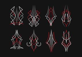 Gratis Pinstripes Vector