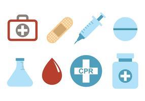 Medische en CPR-vectoren vector