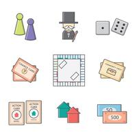 Gratis Monopoly Board Game Vector