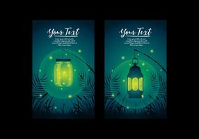 Firefly template vector