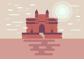 Mumbai Monument Illustratie Vector