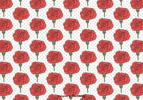 Carnation Vector Naadloos Patroon