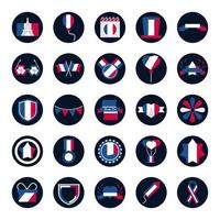 pakket Franse iconen