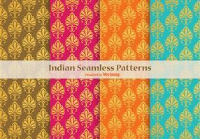 Indische Vector Naadloze Patronen
