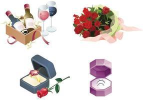 Bruiloft vector elementen Pack