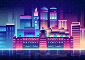 Mumbai 's nachts vector