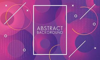 levendige moderne kleuren met vierkante frame abstracte achtergrond