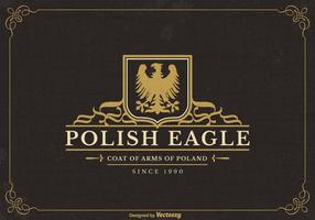 Gratis Poolse Eagle Vector Logo