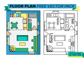 Vloerplan Gratis Vector Pakket