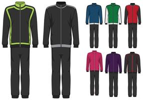 Tracksuit Design Illustratie vector
