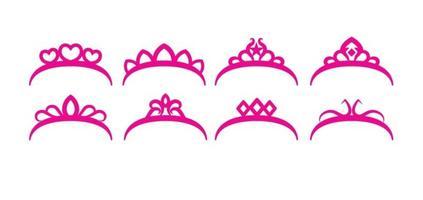 Gratis Crown Set vector