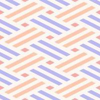 naadloze pastel geweven lijnen patroon vector