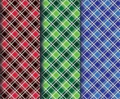 kleurrijke diamanten geruite stofpatronen