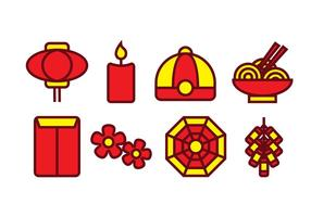 Gratis Chinese Icon Set vector