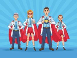 super dokterspersoneel versus covid19
