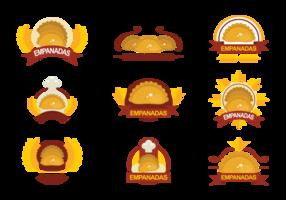 Empanadas Vector Emblemen