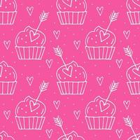 muffins met harten