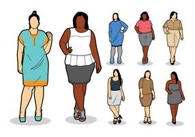Gratis Plus SIze Pictogrammen