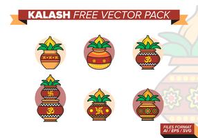Kalash gratis vectorpakket vector