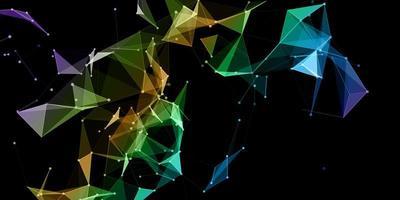 kleurrijke netwerkcommunicatie
