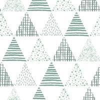 abstract geometrisch naadloos herhalend patroon vector
