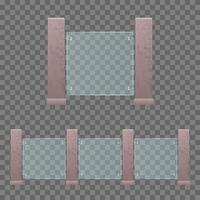 moderne glazen bouwleuning vector