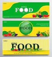 banner ingesteld voor Wereldvoedseldag