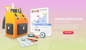 e-learning banner voor thuisstudie