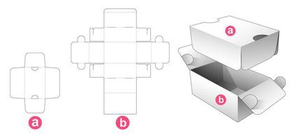 2-flip verpakking met schild