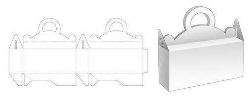 behandelt verpakkende doos