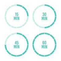 uur en minuten timer ingesteld
