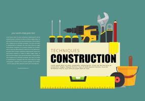 Tools en Level Opening Page vector