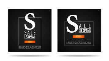 grote verkoop zwarte korting pop-upvensters