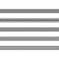 bandensporen ingesteld vector