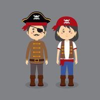 personages die piratenkostuums dragen