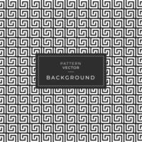 zwart-wit in elkaar grijpend vierkant lijnenpatroon
