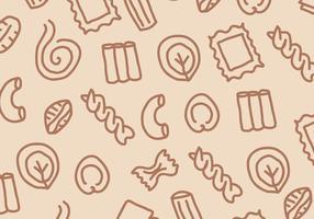 Pasta Patroon vector