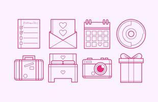 Gratis Wedding Plan Icon Vector
