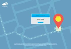 Rfid Mobile GPS Illustratie vector
