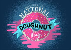National Donut Day vector