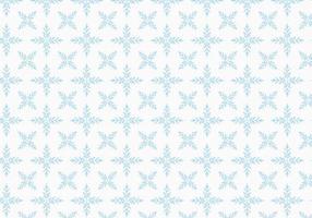 Gratis Vector Snowflakes Patroon