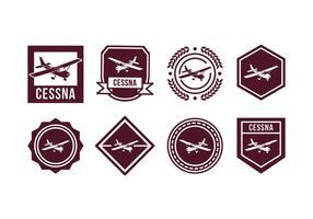 Gratis Vliegtuig Vector Badge