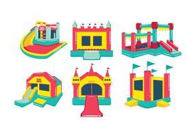 Bounce house vector